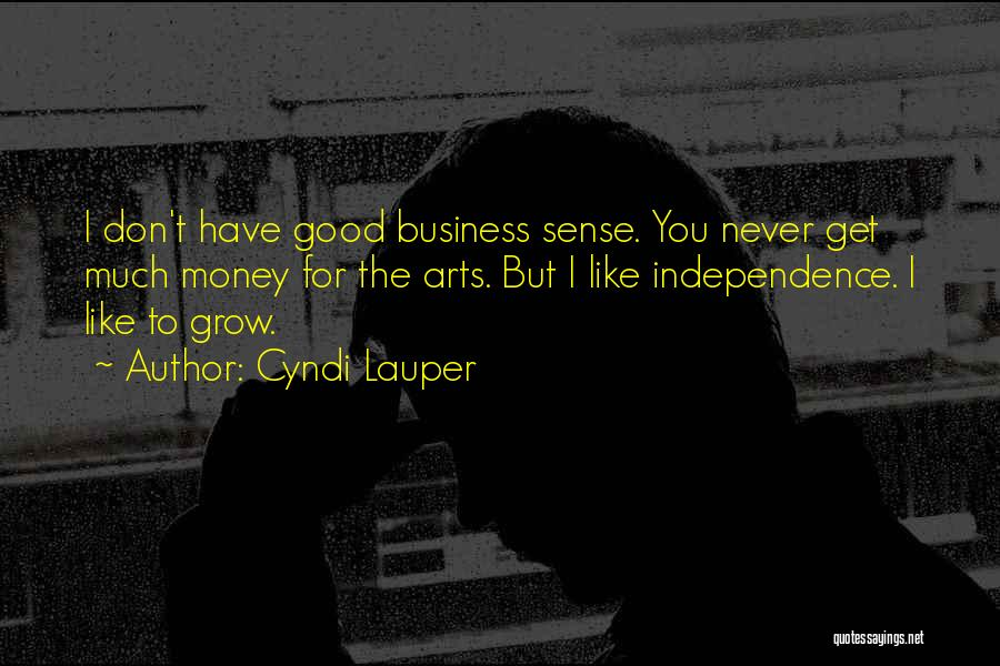 Get The Money Quotes By Cyndi Lauper