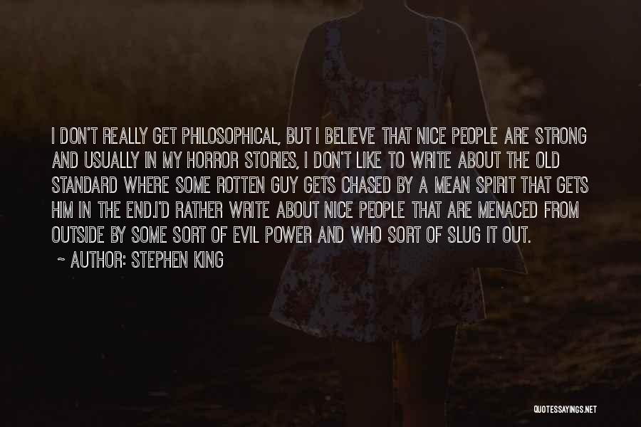 Gets Old Quotes By Stephen King