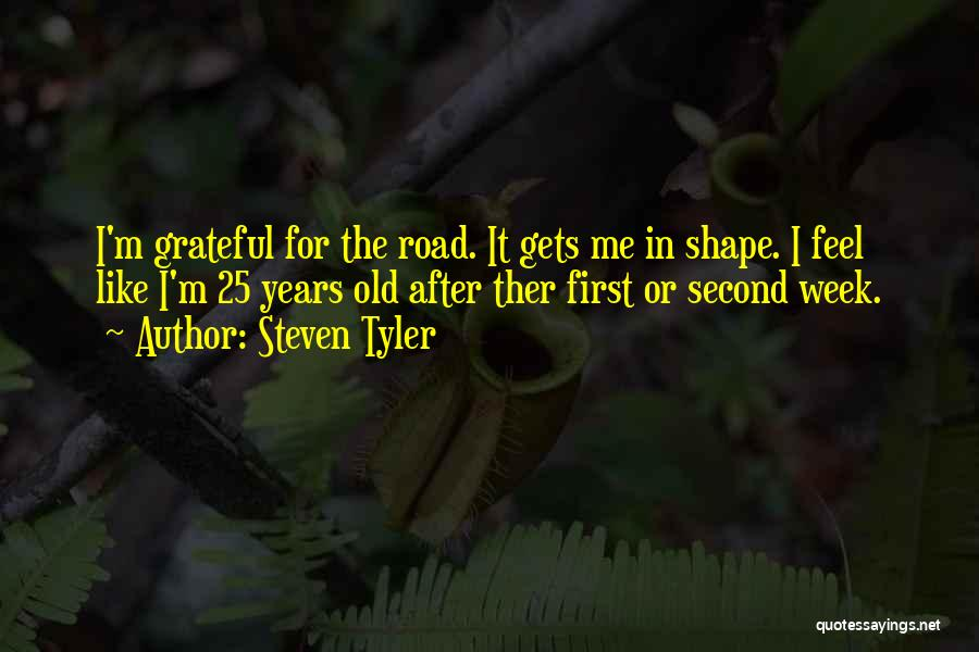 Gets Old Quotes By Steven Tyler