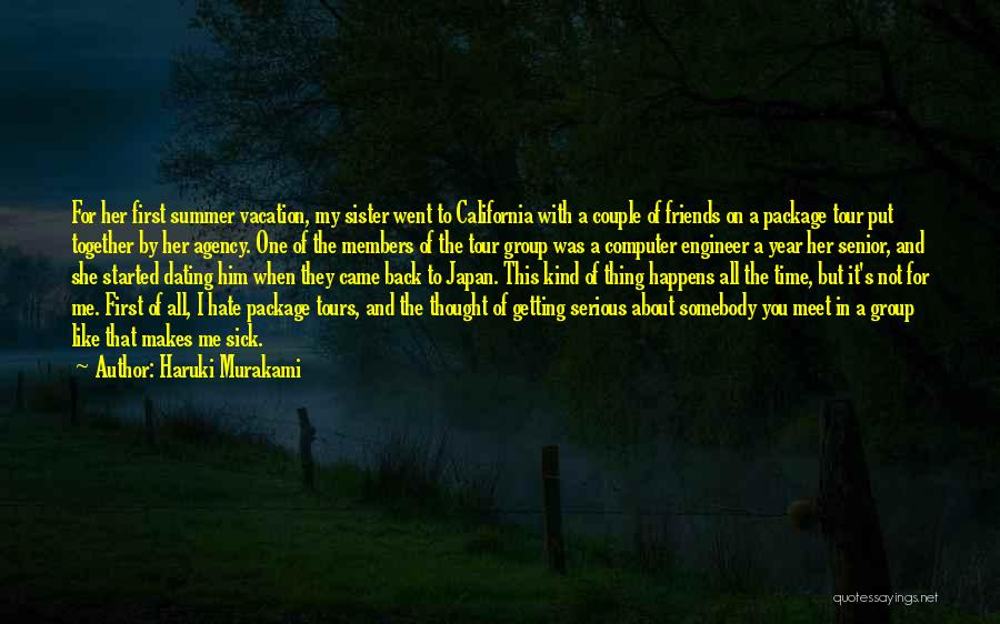 Getting Back Together With Friends Quotes By Haruki Murakami