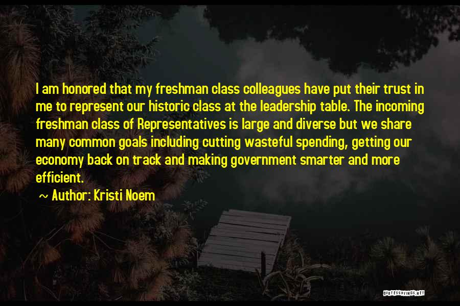 Getting Back What You Put Out Quotes By Kristi Noem