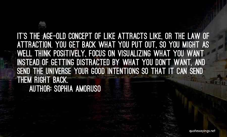 Getting Back What You Put Out Quotes By Sophia Amoruso