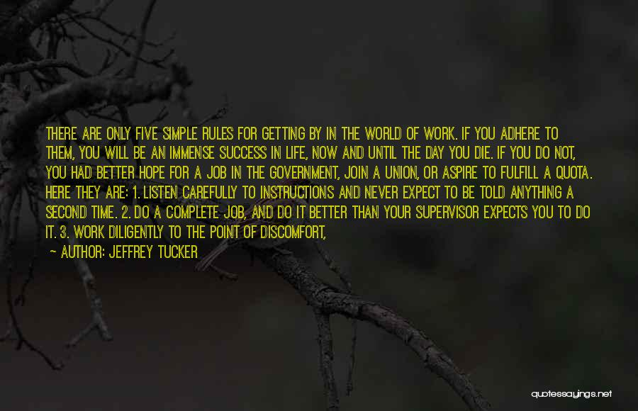 Getting Better At Work Quotes By Jeffrey Tucker