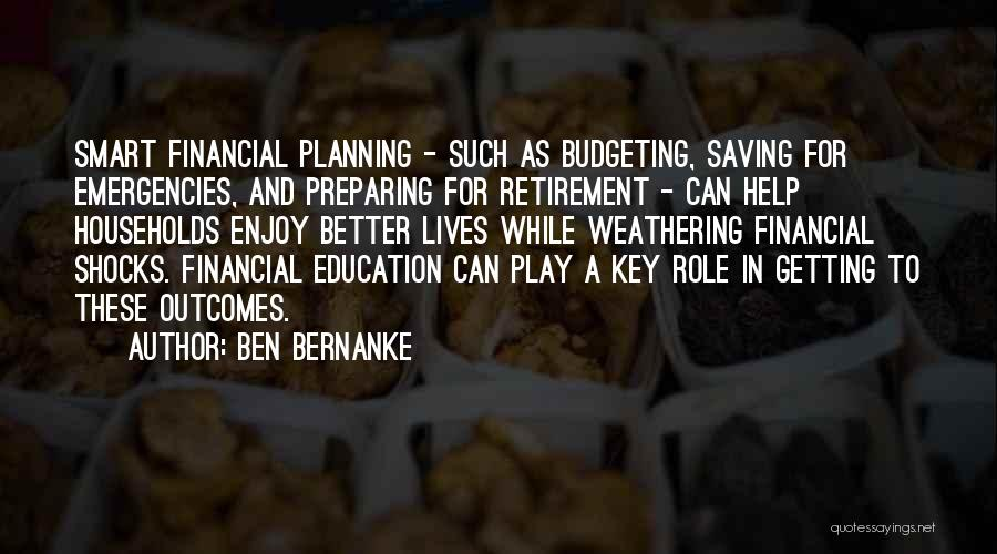Getting Better Quotes By Ben Bernanke
