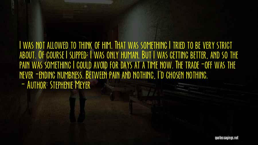Getting Better Quotes By Stephenie Meyer