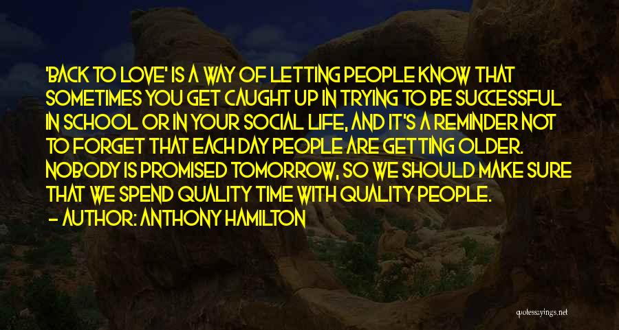 Getting Caught Up Quotes By Anthony Hamilton