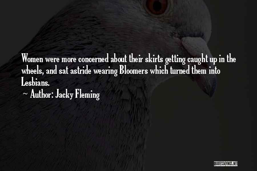 Getting Caught Up Quotes By Jacky Fleming