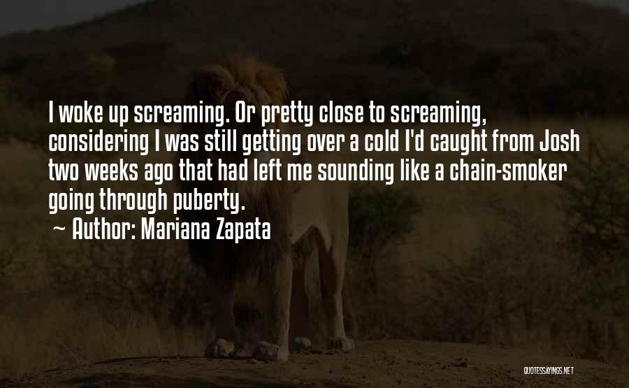 Getting Caught Up Quotes By Mariana Zapata