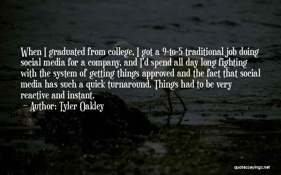 Getting Graduated Quotes By Tyler Oakley