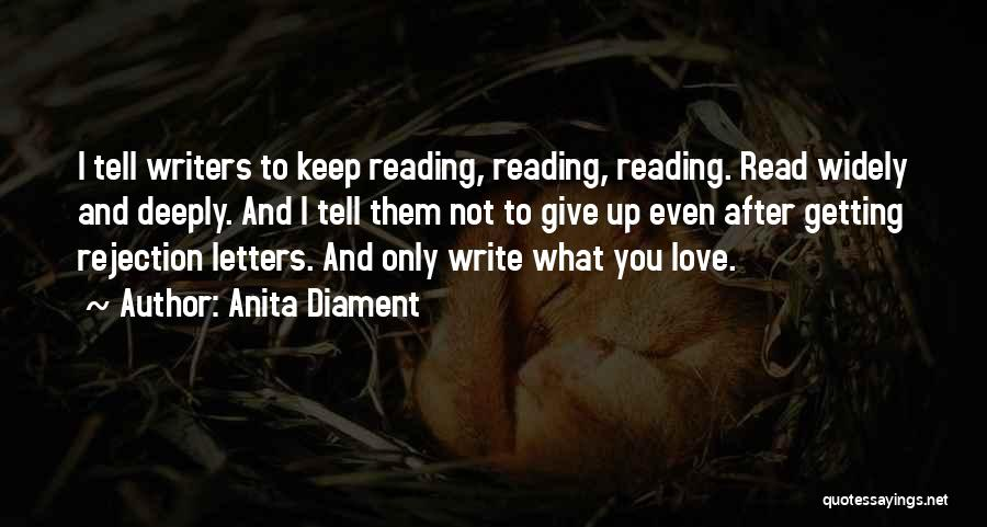 Getting Letters Quotes By Anita Diament