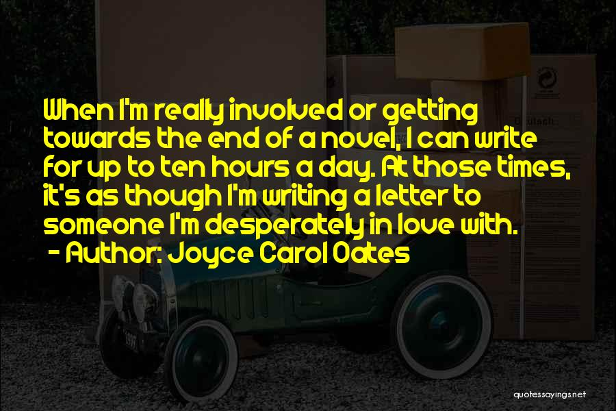 Getting Letters Quotes By Joyce Carol Oates