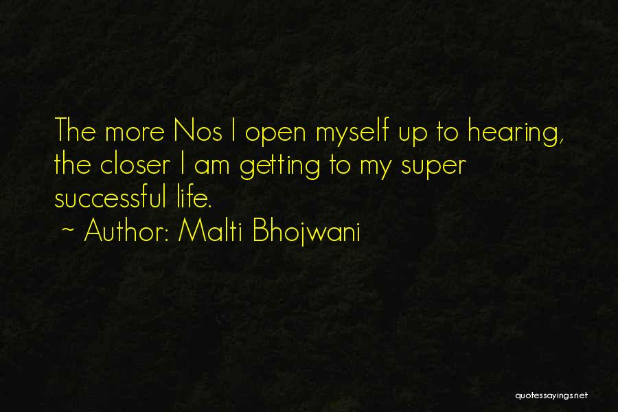 Getting Letters Quotes By Malti Bhojwani