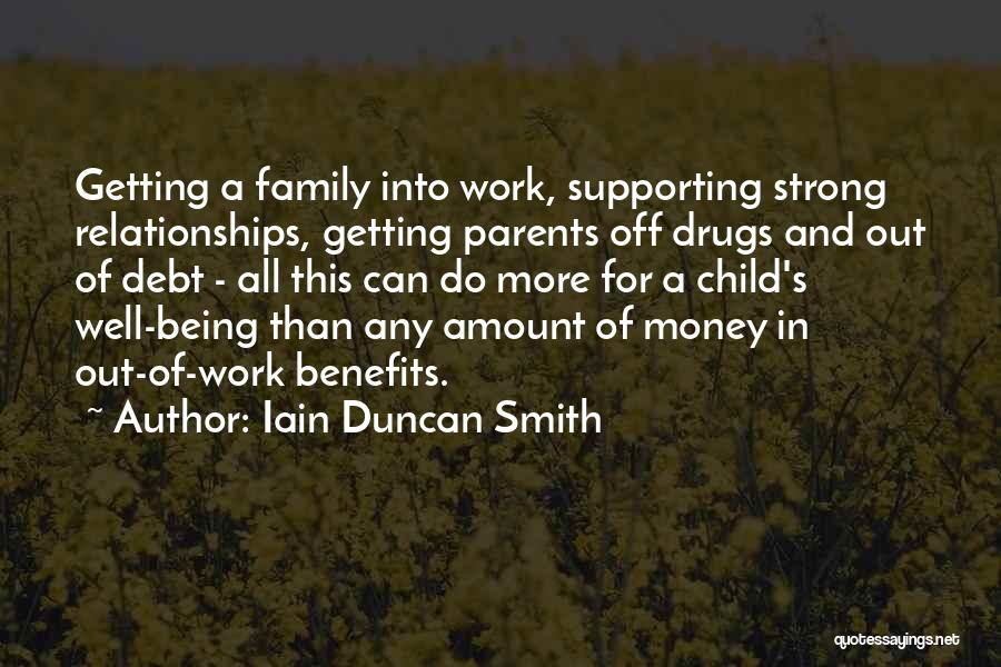 Getting Off Work Quotes By Iain Duncan Smith