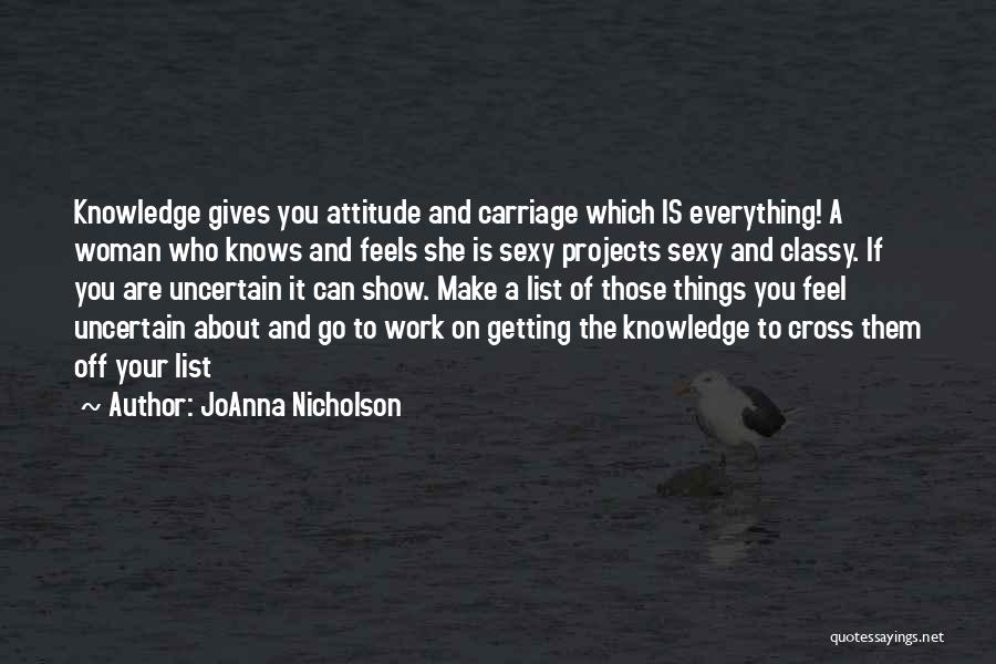 Getting Off Work Quotes By JoAnna Nicholson