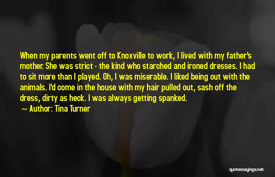 Getting Off Work Quotes By Tina Turner