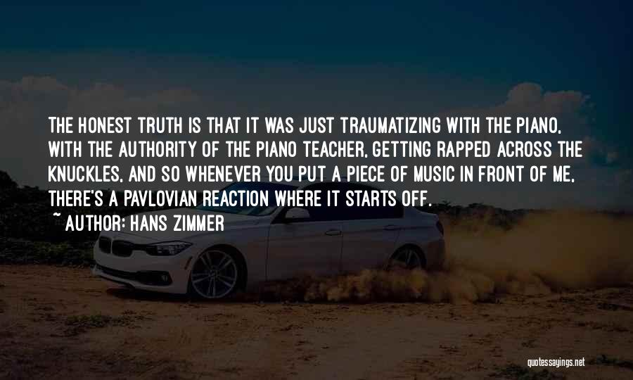Getting Rapped Quotes By Hans Zimmer