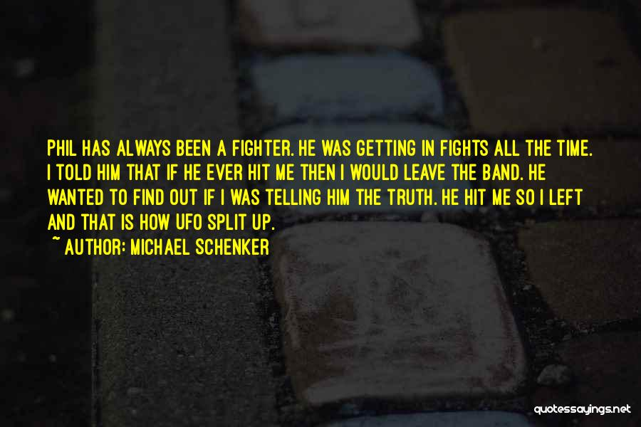 Getting The Truth Out Quotes By Michael Schenker