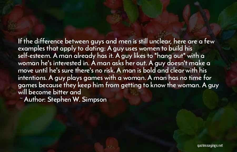 Getting The Truth Out Quotes By Stephen W. Simpson