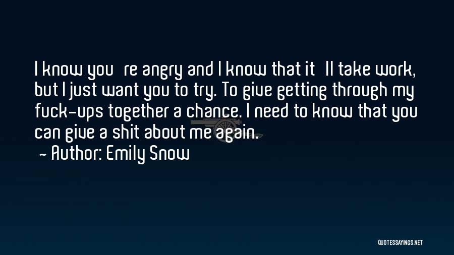 Getting Together Again Quotes By Emily Snow
