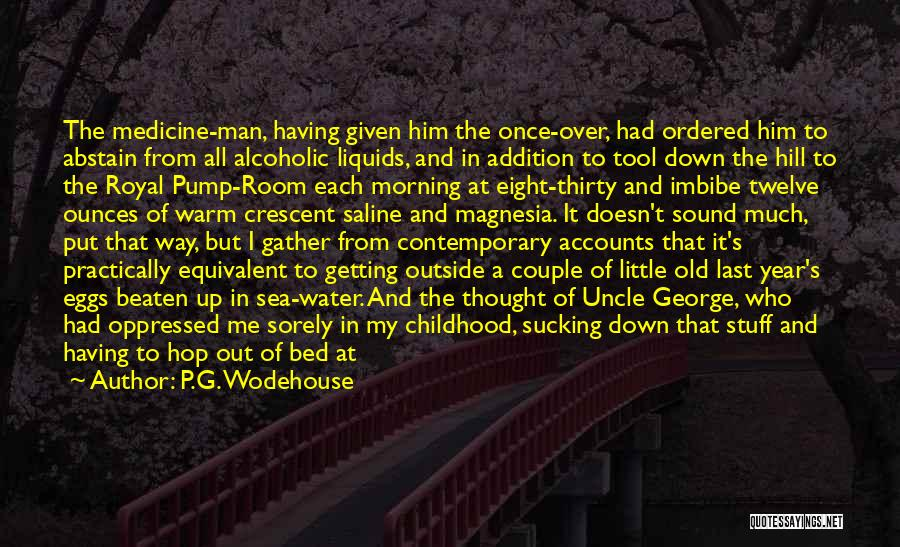 Getting Together Again Quotes By P.G. Wodehouse