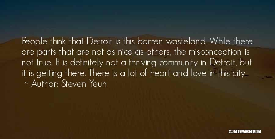 Getting Where You Want To Be Quotes By Steven Yeun