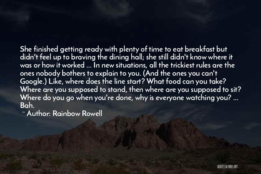 Getting Worked Up Quotes By Rainbow Rowell