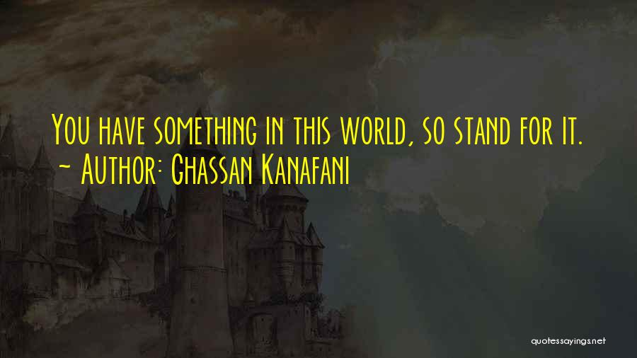 Ghassan Kanafani Quotes 1511335