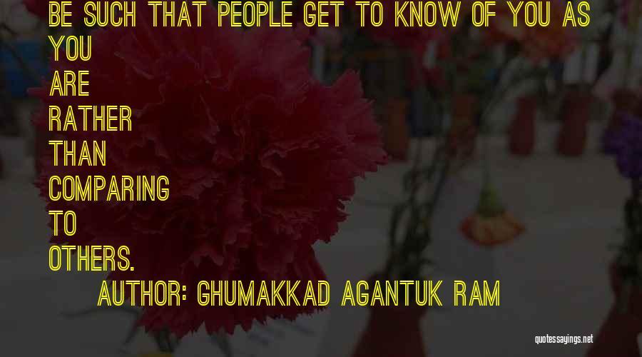 Ghumakkad Agantuk Ram Quotes 1634481
