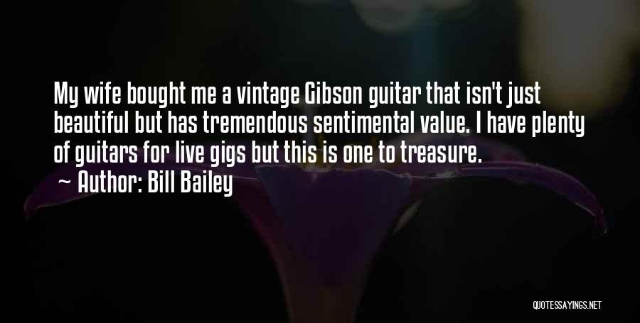 Gibson Guitars Quotes By Bill Bailey
