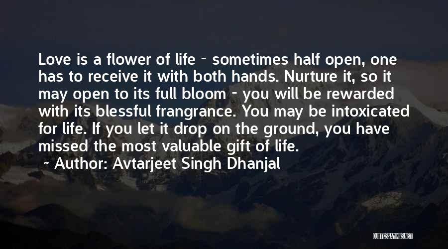 Gift Receive Quotes By Avtarjeet Singh Dhanjal