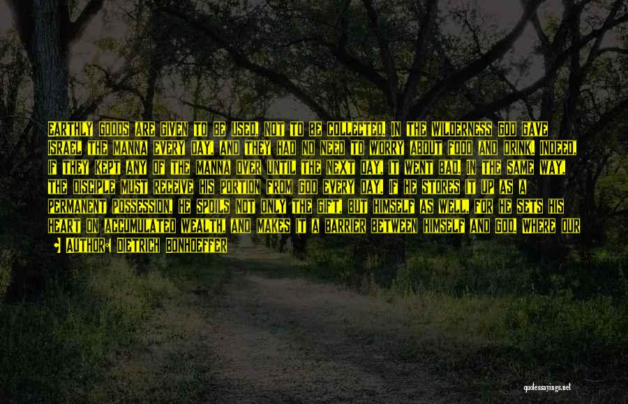 Gift Receive Quotes By Dietrich Bonhoeffer