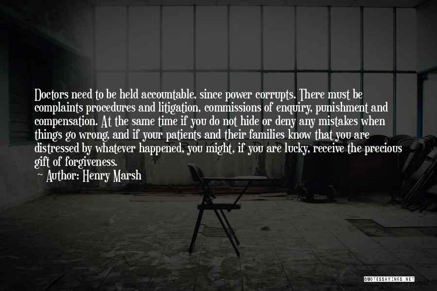 Gift Receive Quotes By Henry Marsh