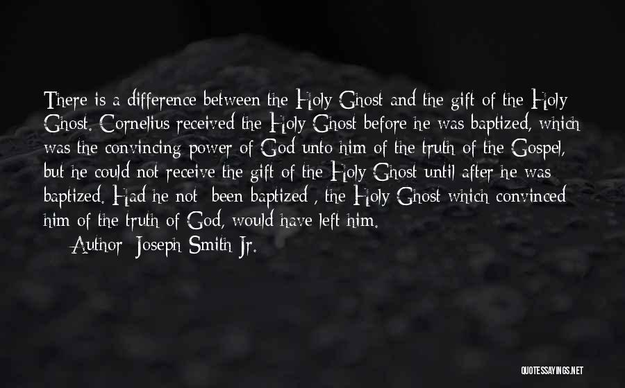 Gift Receive Quotes By Joseph Smith Jr.