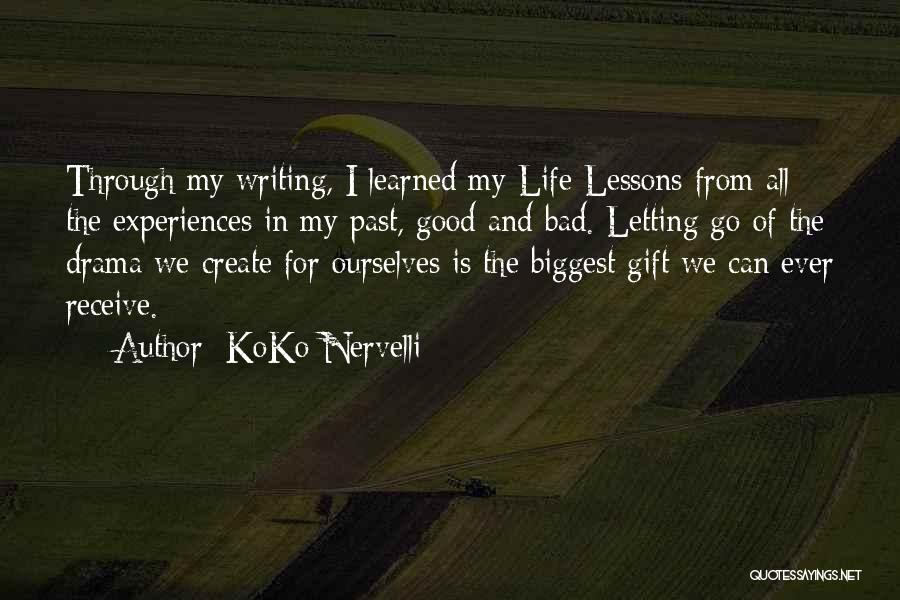 Gift Receive Quotes By KoKo Nervelli