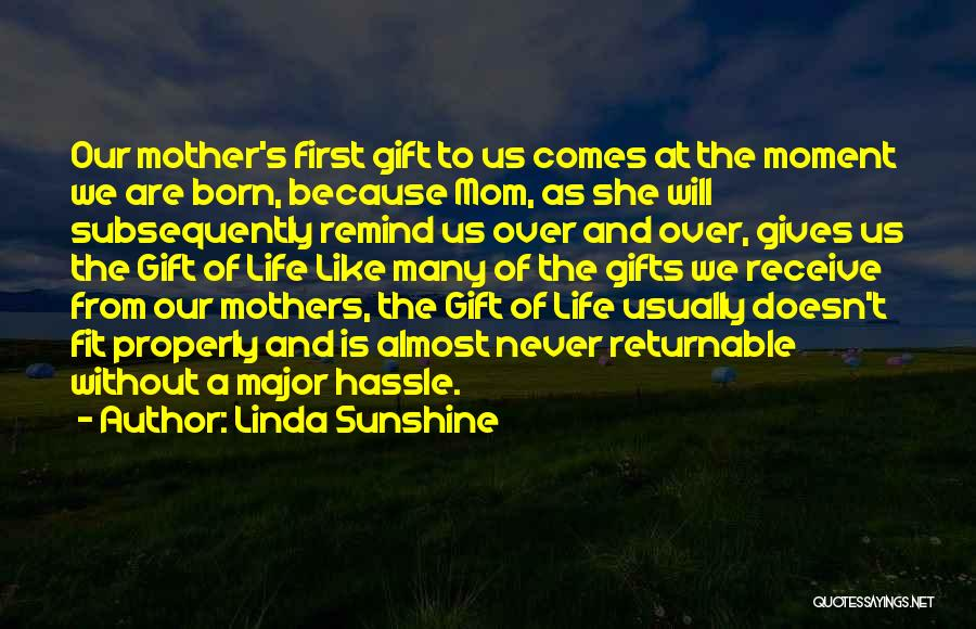 Gift Receive Quotes By Linda Sunshine