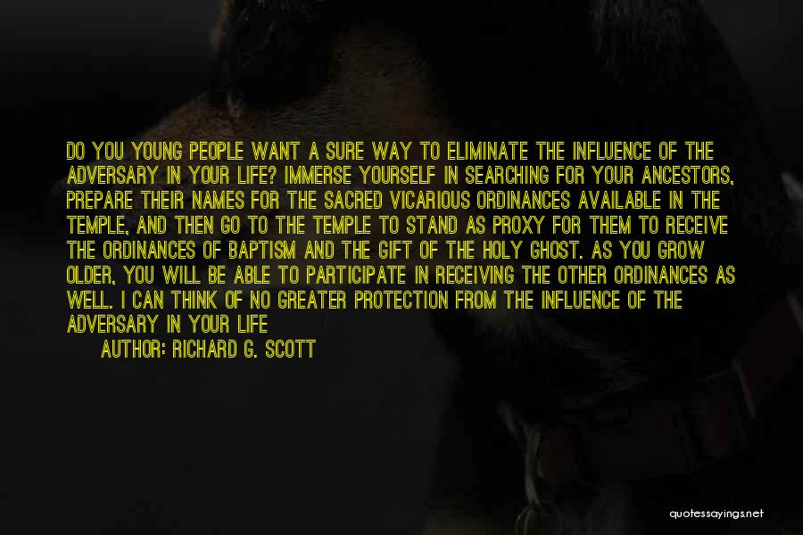 Gift Receive Quotes By Richard G. Scott