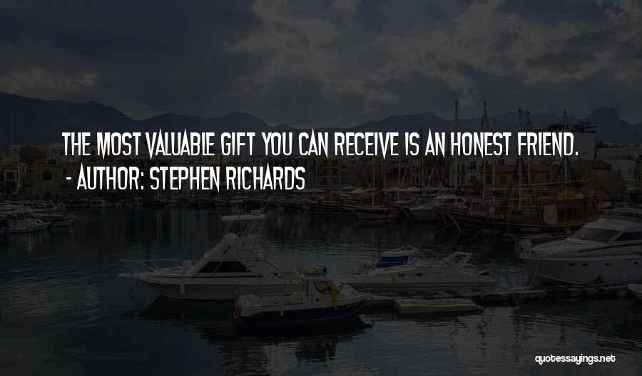Gift Receive Quotes By Stephen Richards