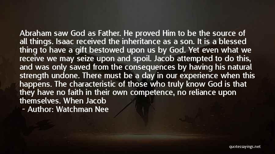 Gift Receive Quotes By Watchman Nee