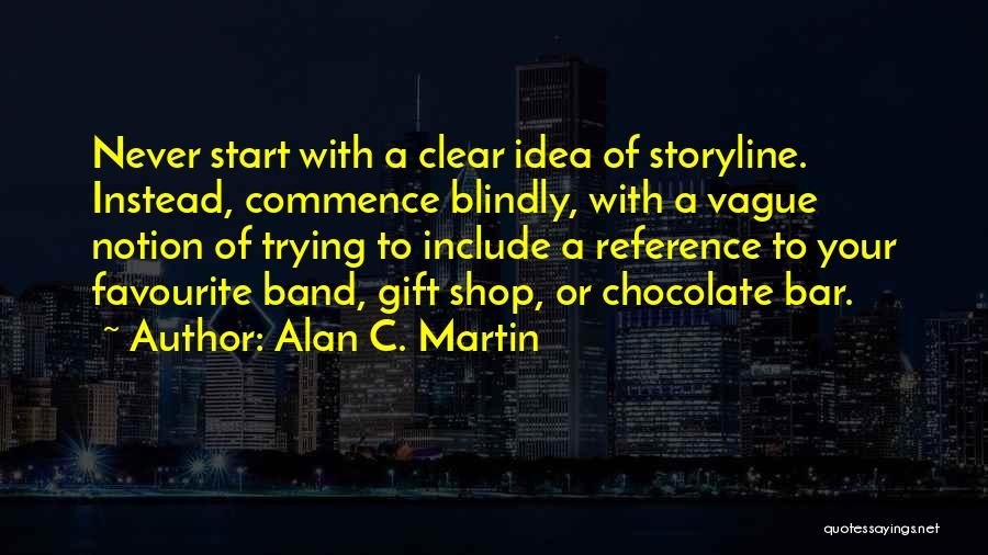 Gift Shop Quotes By Alan C. Martin