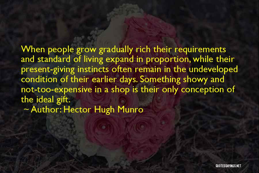 Gift Shop Quotes By Hector Hugh Munro