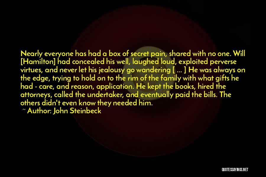 Gifts From Family Quotes By John Steinbeck