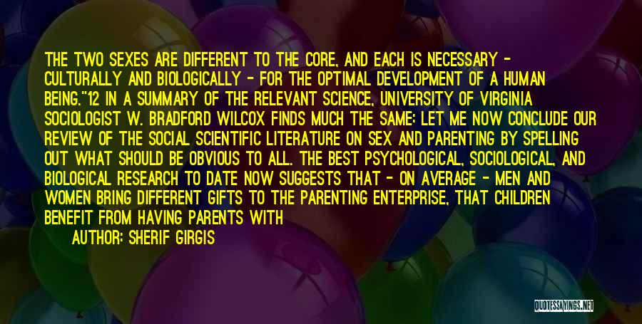 Gifts From Family Quotes By Sherif Girgis