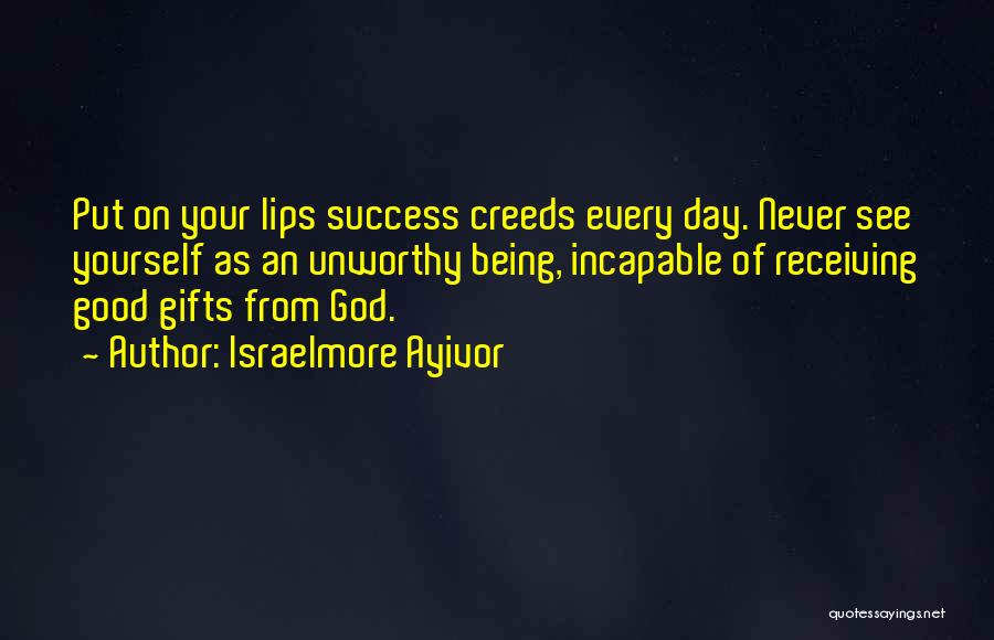 Gifts Receiving Quotes By Israelmore Ayivor