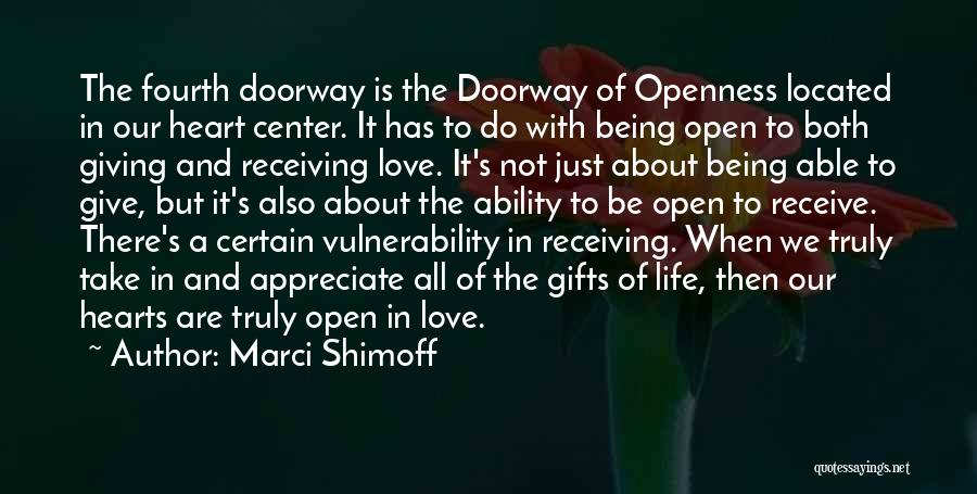 Gifts Receiving Quotes By Marci Shimoff