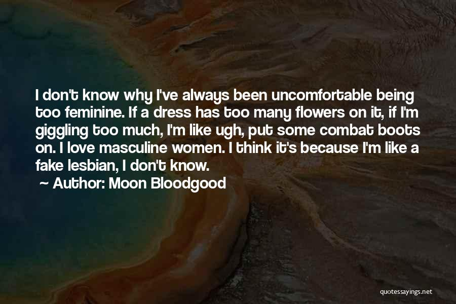 Giggling Love Quotes By Moon Bloodgood