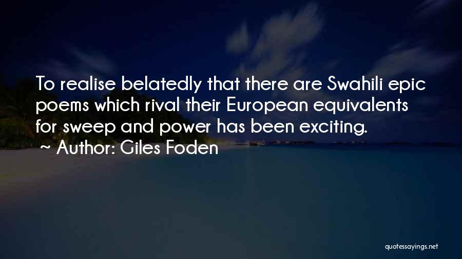 Giles Foden Quotes 1052253