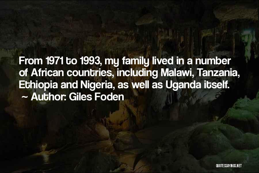 Giles Foden Quotes 1206255