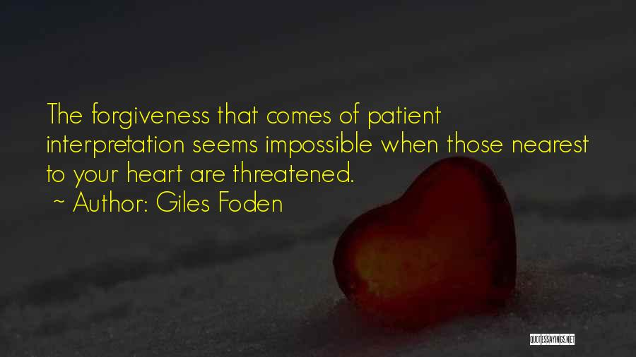 Giles Foden Quotes 1645270