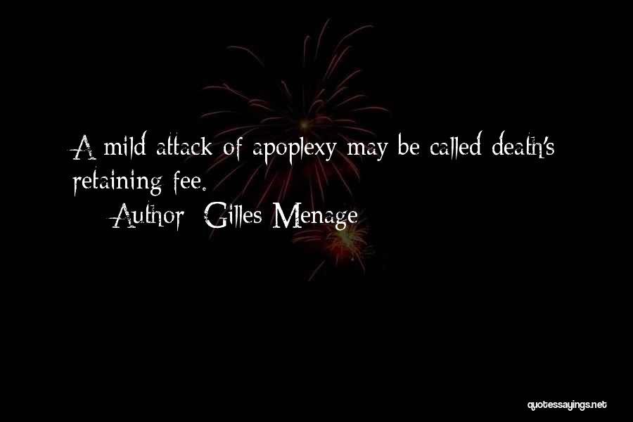 Gilles Menage Quotes 392187