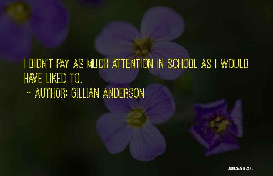 Gillian Anderson Quotes 1933192